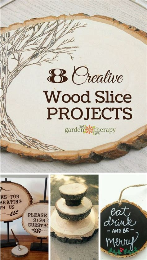8 Creative Wood Rounds Projects