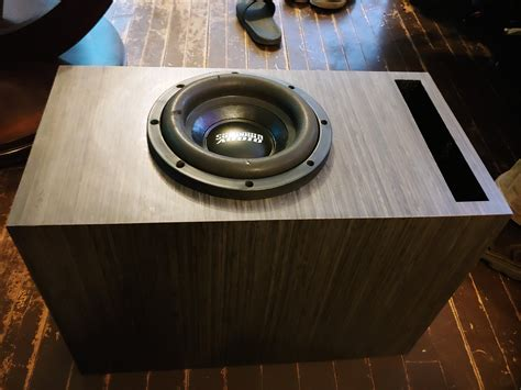 8 Inch Ported Box Plans