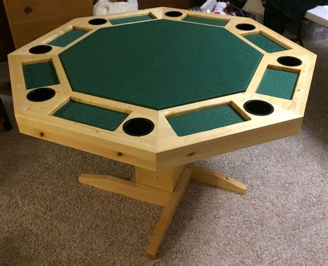 8 Person Octagon Poker Table Plans