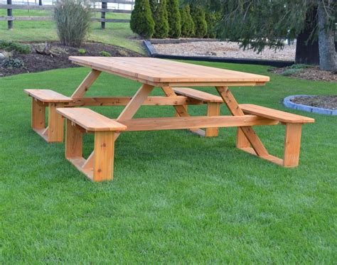 8 Picnic Table Plans Free