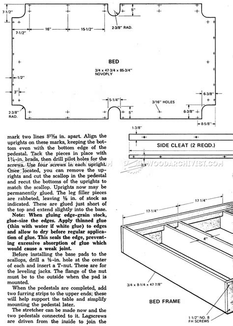 8 Pool Table Plans