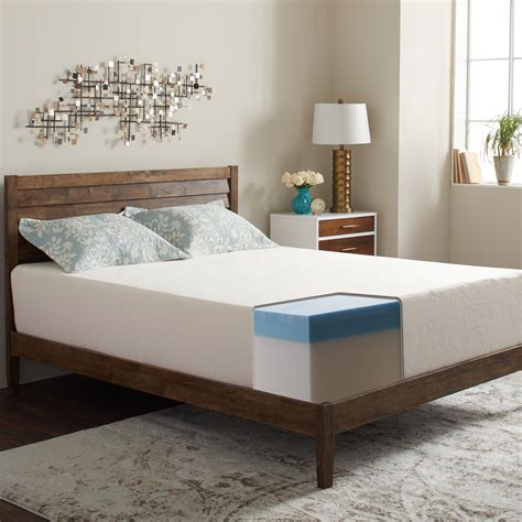 "8"" Medium Gel Memory Foam Mattress"