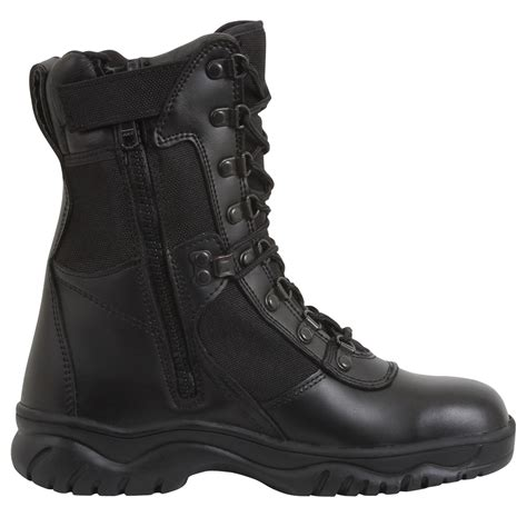 8'' Forced Entry Side Zip Tact Boot