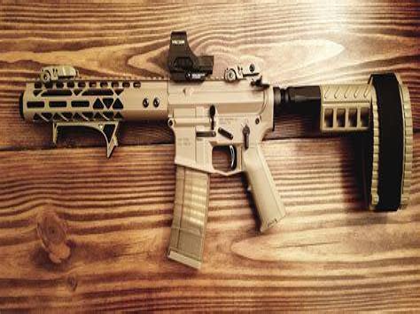 8 Inch 300 Blackout Pistol
