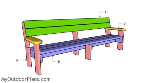 8-Foot-Bench-Plans
