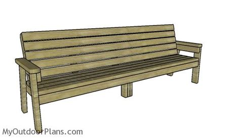 8-Ft-Bench-Plans