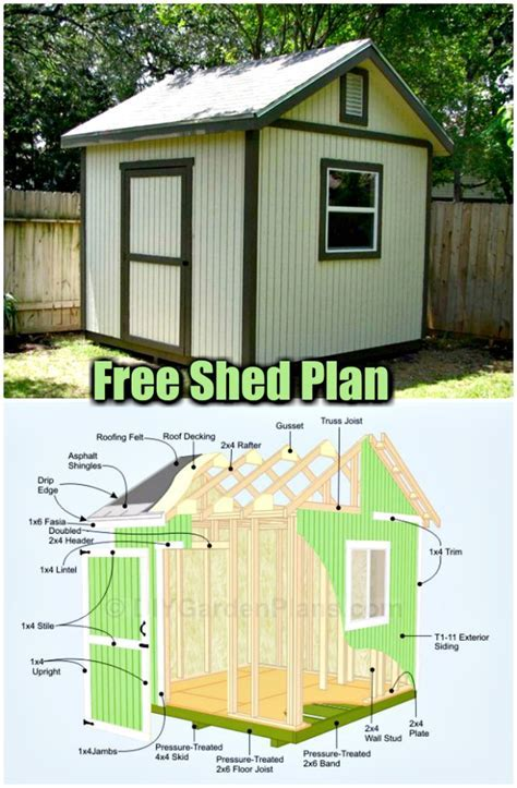 8-X-14-Lean-To-Shed-Plans-Free