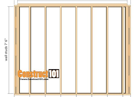 8 by 10 shed plans Image