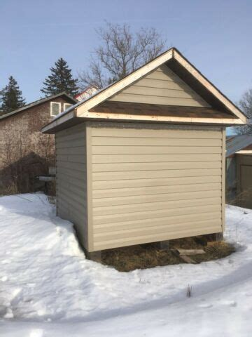8 by 8 storage shed Image