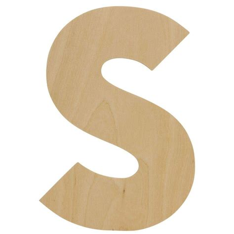 8 inch wooden letters Image