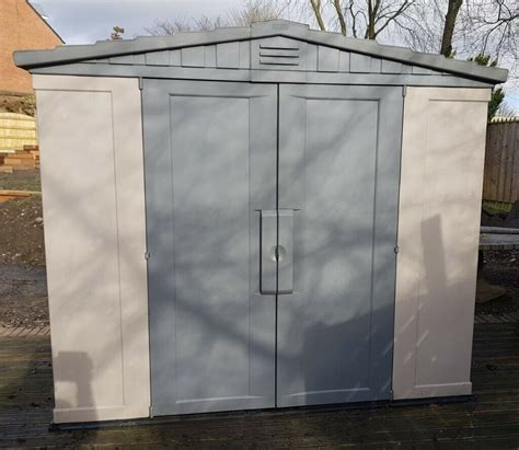 8 x 6 plastic shed Image