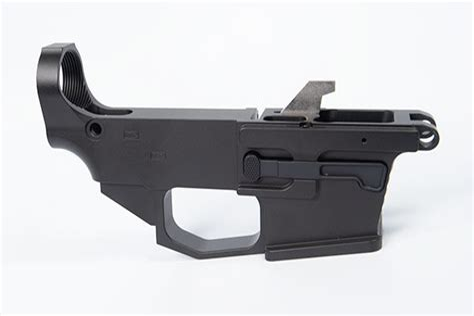 80 Ar15 Lower Receiver Black Daytona Tactical