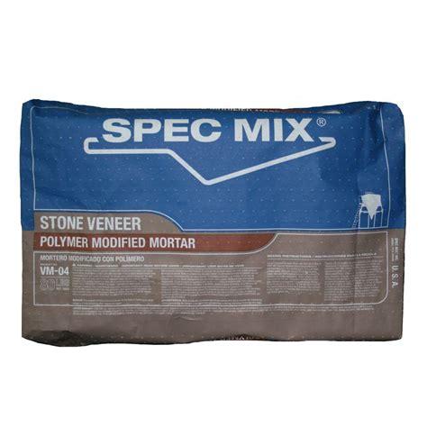 80 Lb Polymer Modified Veneer Stone Mortar Mix
