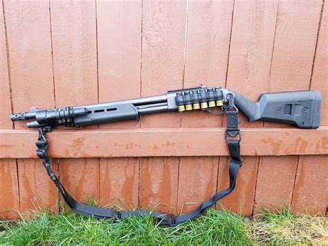 870 Tactical With Magpul