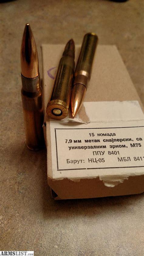8mm Sniper Rifle Ammo