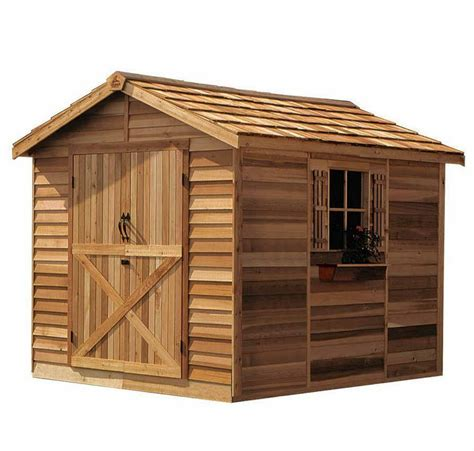 8x10 Storage Shed Building Plans