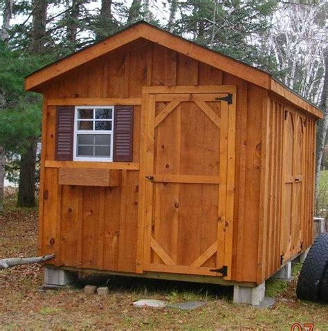 8x10 storage shed plans Image