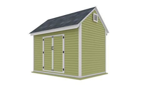 8x12 storage shed plans Image