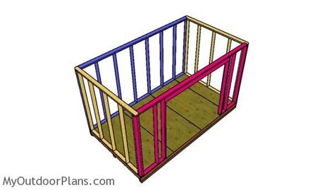 8x14-Lean-To-Shed-Plans