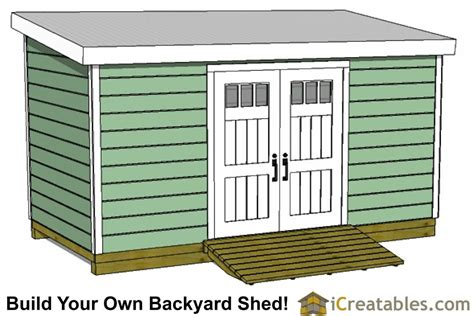 8x20-Lean-To-Shed-Plans