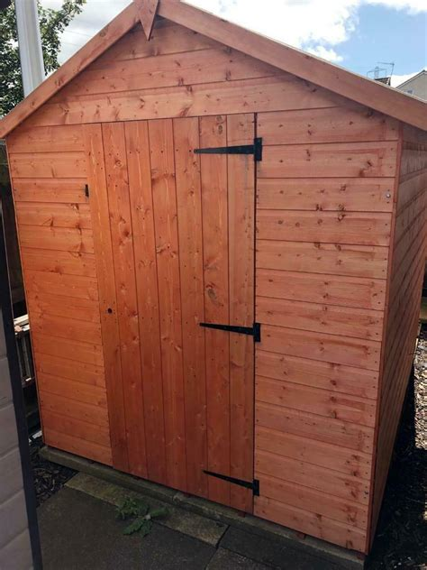 8x6 garden shed Image