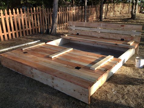 8x8 Covered Sandbox Plans