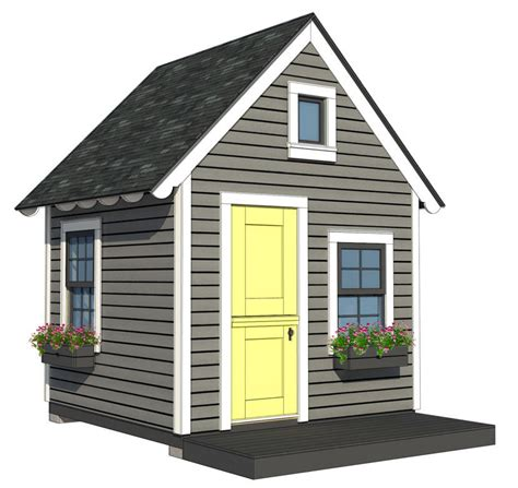 8x8 Playhouse Plan