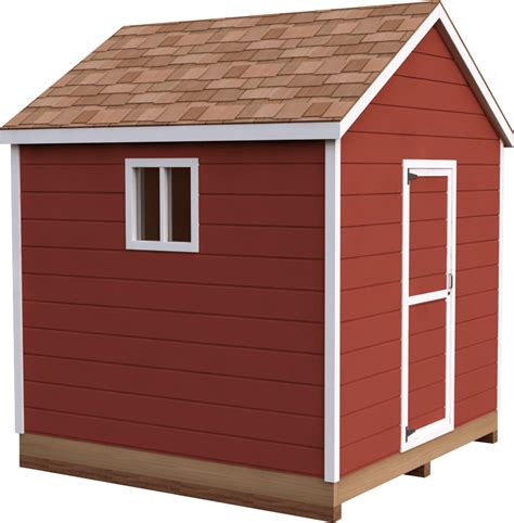 8x8 Storage Shed Plans