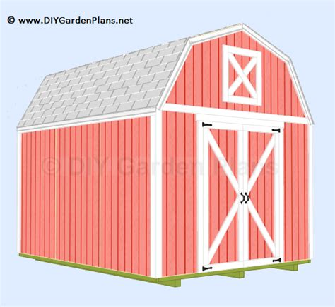 8x8-Mini-Barn-Plans
