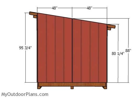 8x8-Shed-Roof-Plans