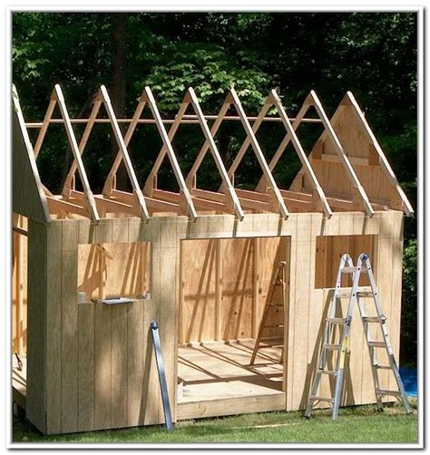8x8 storage shed plans Image