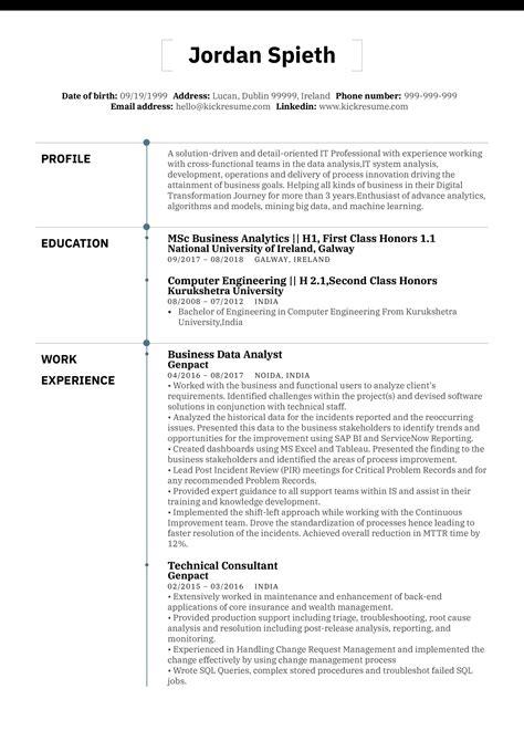 Procurement Resume Sample India