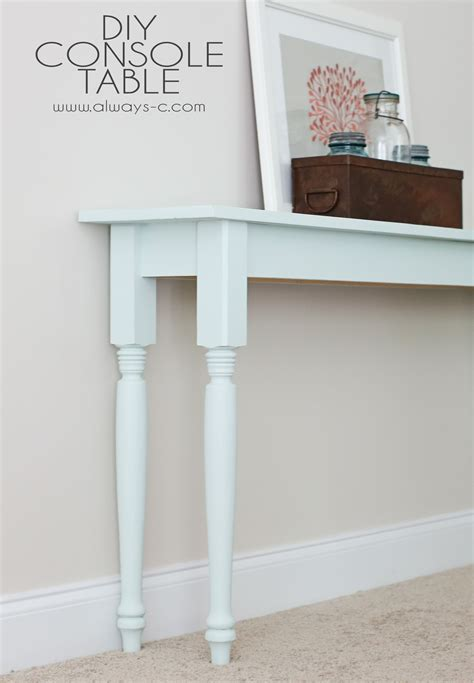 9-Wide-Console-Table-Plans
