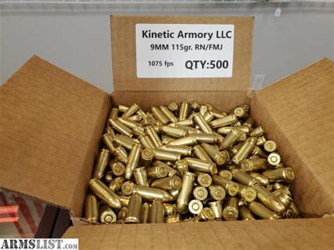 9mm Bulk Ammo For Sale - The Armory.
