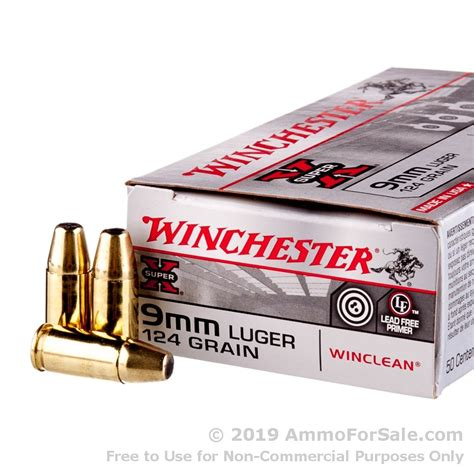 9mm Ammo Winchester For Sale And 9mm Frangible Ammo Hollow