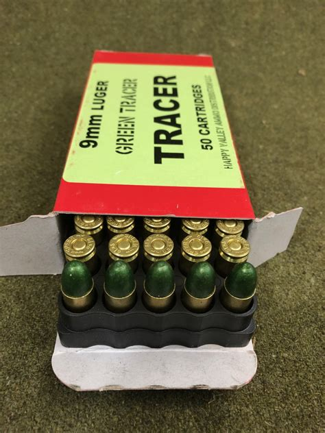 9mm Pistol Tracer Ammo And Aguila 9mm 115 Gr Ammo Review