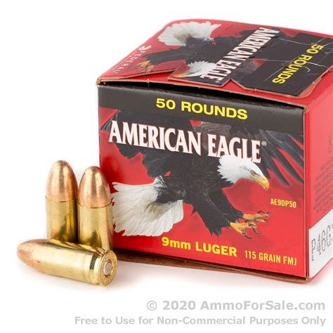 9mm Ammo American Eagle For Sale