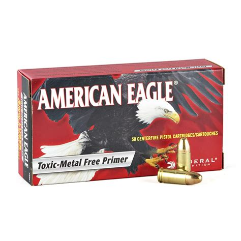 9mm Ammo For Sale 147 Gr Fmj Federal American Eagle