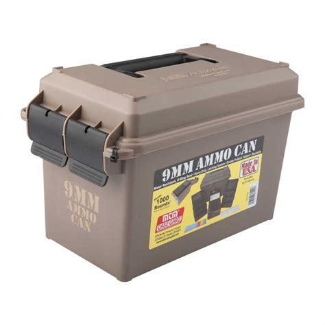 9mm Ammo Storage Can