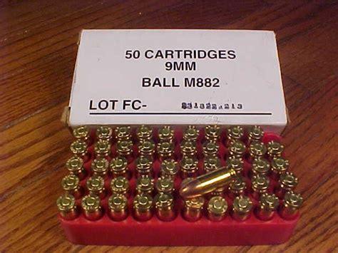 9mm Ball M882