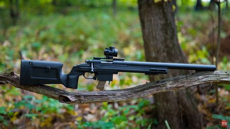 9mm Bolt Action Rifle Suppressed