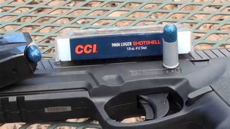 9mm Cci Shotshell Ballistic Gel Test
