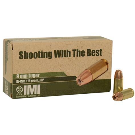 9mm Diecut Jhp Ammo