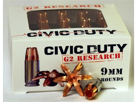 9mm Expanding Ammo