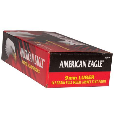 9mm Federal American Eagle 147gr Fmj Ammo