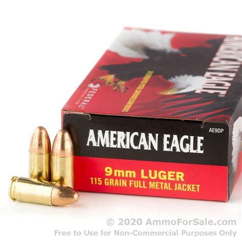 9mm Federal Ammo 115gr