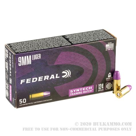 9mm Federal Synthetic Ammo