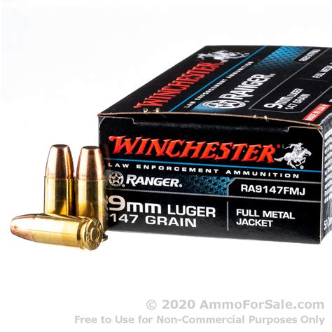 9mm Fmj Ammo For Sale In Stock