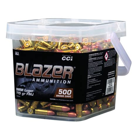 9mm Luger Bulk Range Ammo