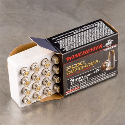 9mm Luger P 124gr Jacketed Hollow Point Ammo - Bugpy Co
